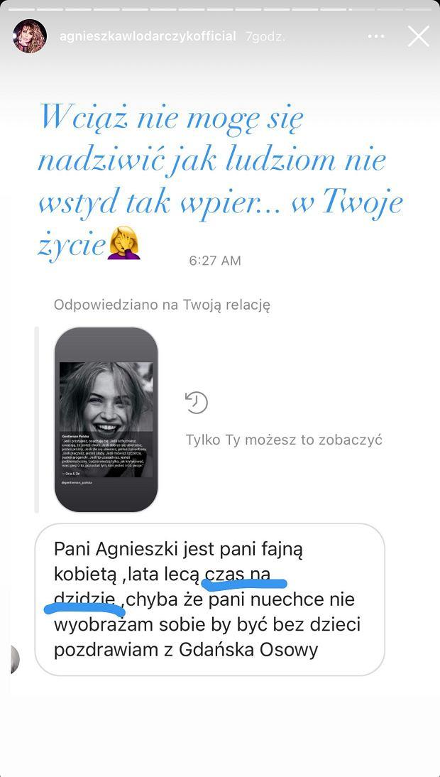 Agnieszka Włodarczyk odpowiada fance