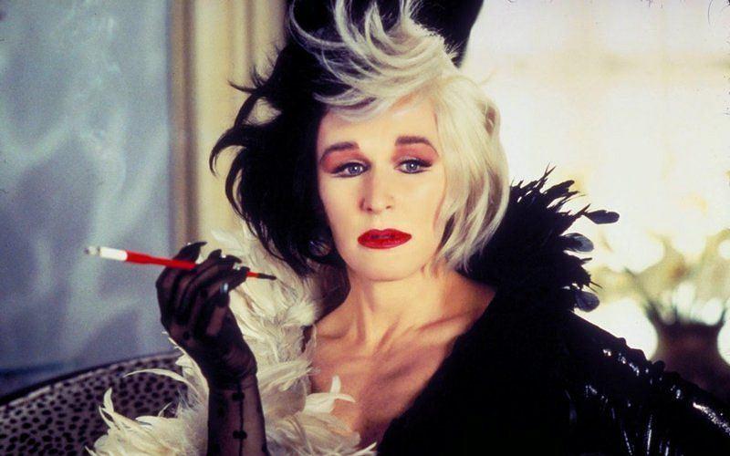 Cruella De Mon ze '101 Dalmatyńczyków' grana w filmie przez Glen Close (fot: materiały dystrybutora)