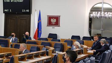 30. posiedzenie Senatu X kadencji ws. rekompensat za stan wyjątkowy