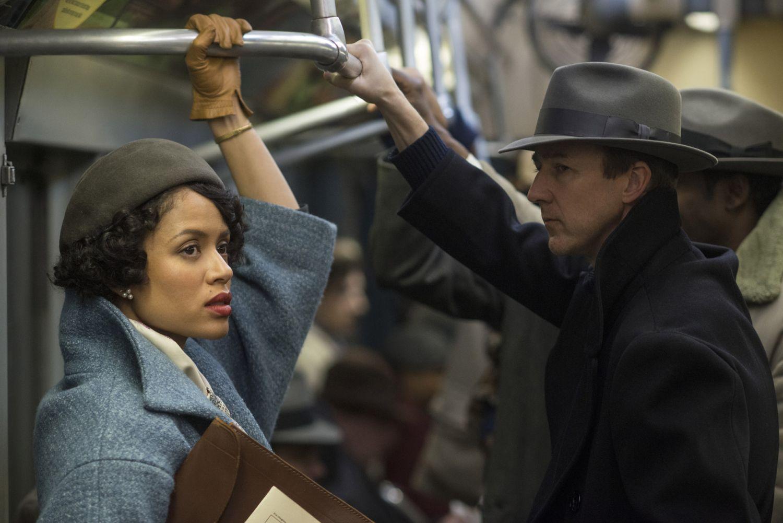 Gugu Mbatha-Raw i Edward Norton w filmie 'Osierocony Brooklyn' (mat. prasowe)
