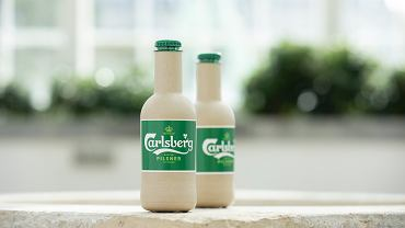 Papierowe butelki z piwem