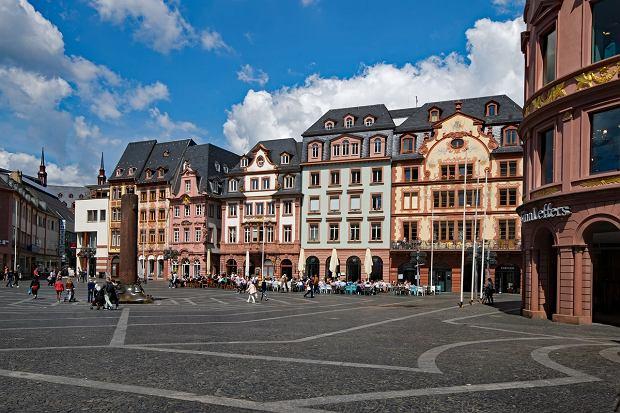 Widok na plac w Mainz (fot. Pixabay)