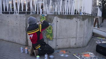 Swój miniature street art Jaune już prezentuje na ulicach Białegostoku