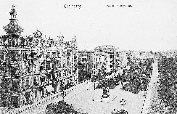 Tak wyglądał w przeszłości Plac Wolności w Bydgoszczy
