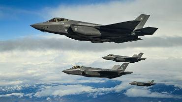 Amerykańskie myśliwce F-35A