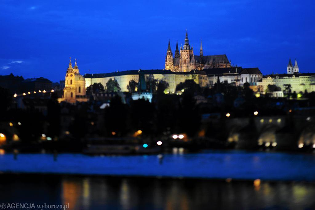 Praga, panorama i Zamek na Hradczanach