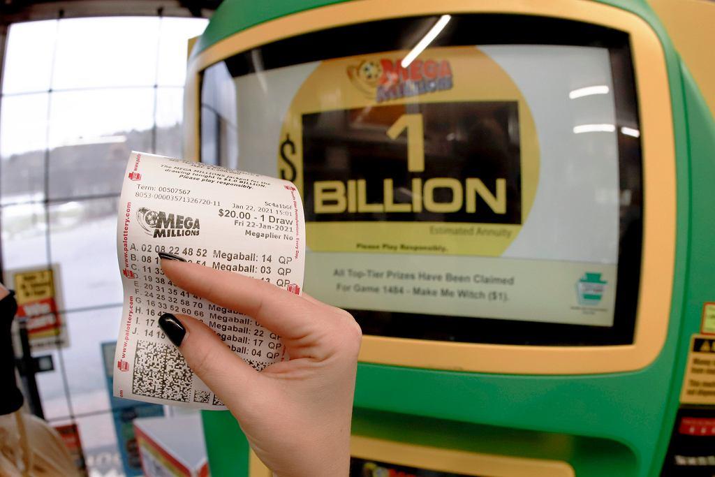 Wielka wygrana na loterii w USA - miliard dolarów.