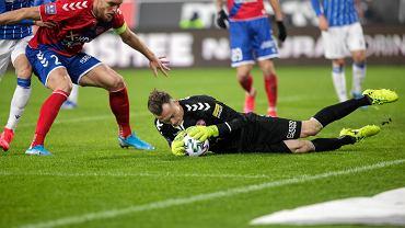 Lech Poznań - Raków Częstochowa 3:0. Jakub Szumski