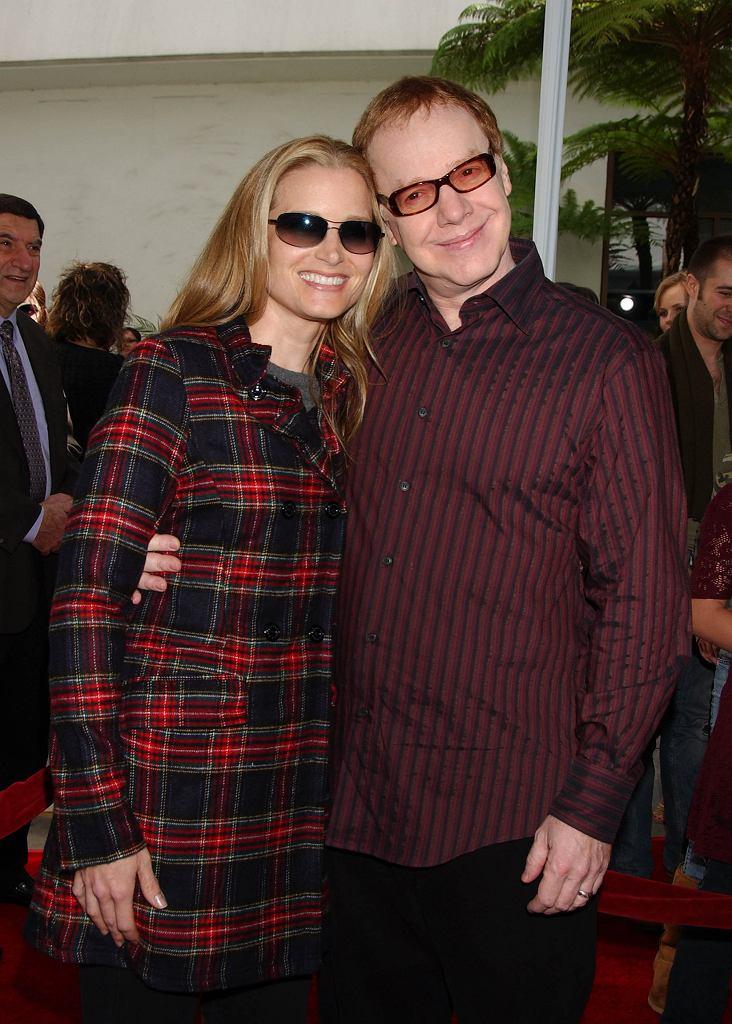 Bridget Fonda z mężem