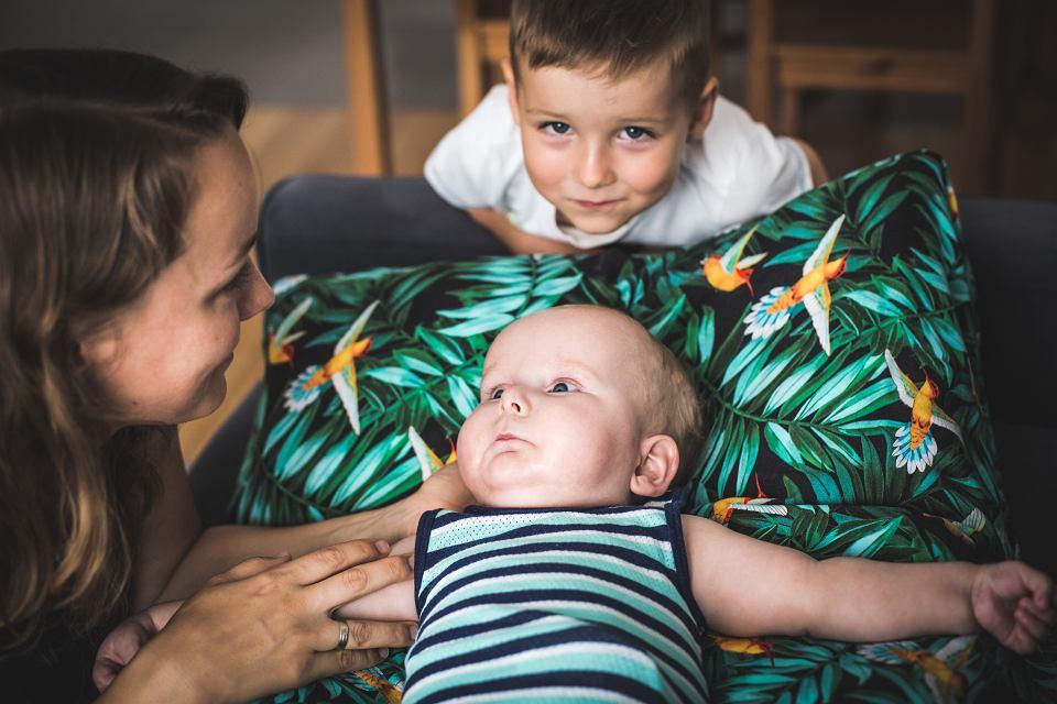 Maks, podopieczny Wrocławskiego Hospicjum dla Dzieci