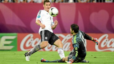 Euro 2012, Niemcy - Greja 4:2. Miroslav Klose