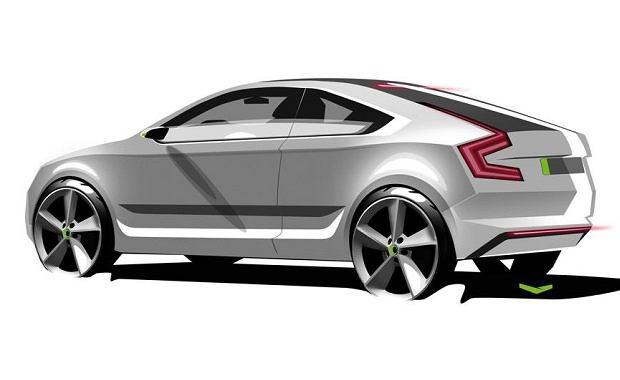 Skadoa Rapid Coupe - szkic