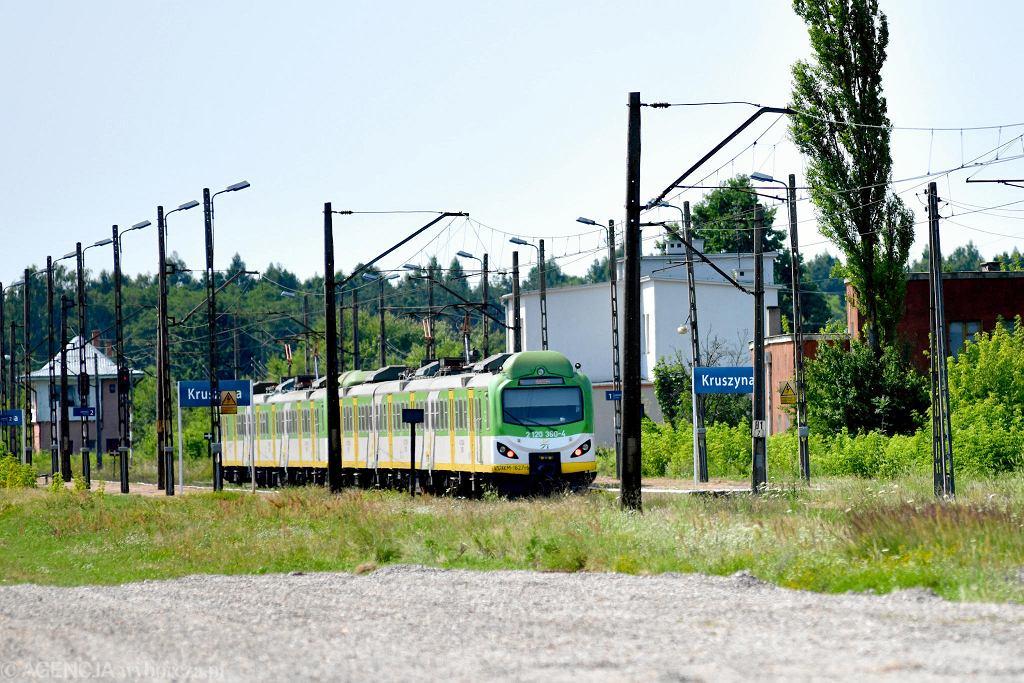 Budowa linii kolejowej nr 8