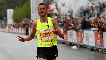 Rio 2016. Henryk Szost podczas Orlen Warsaw Marathon 2015