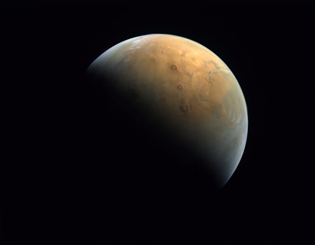 Pierwsze zdjęcie sondy Hope z orbity Marsa