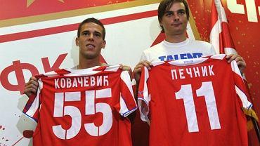 Aleksandar Kovacević (z lewej)