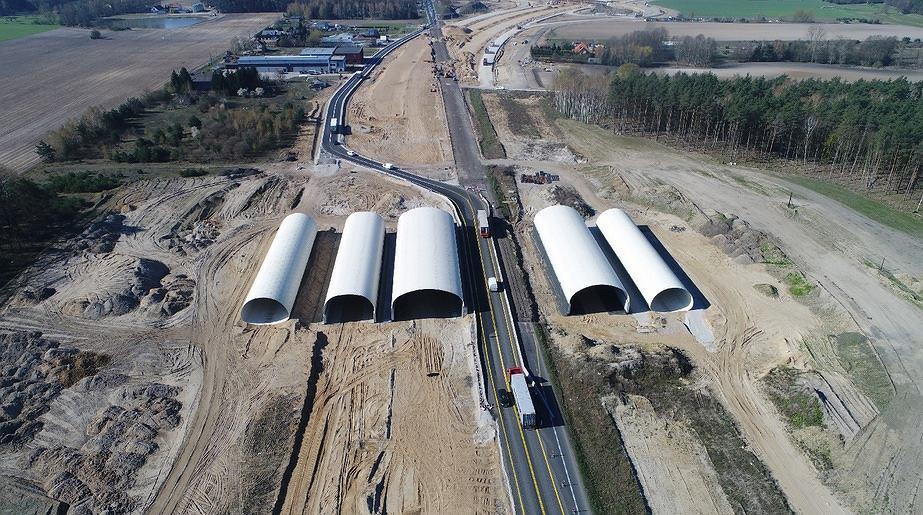 Budowa drogi ekspresowej S5. Odcinek między Dworzyskiem a Aleksandrowem