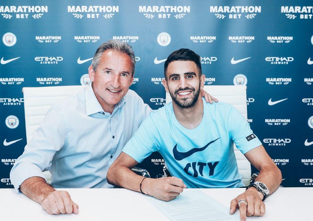 Riyad Mahrez nowym zawodnikiem Manchesteru City