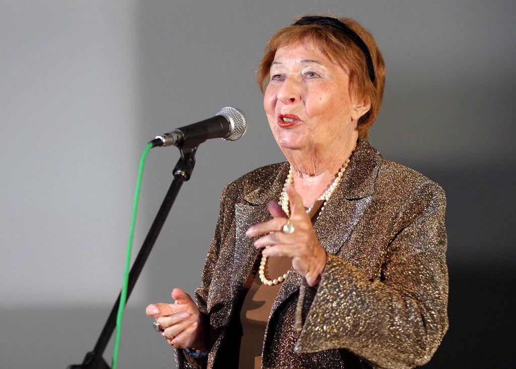 Irena Kwiatkowska w 2004 roku