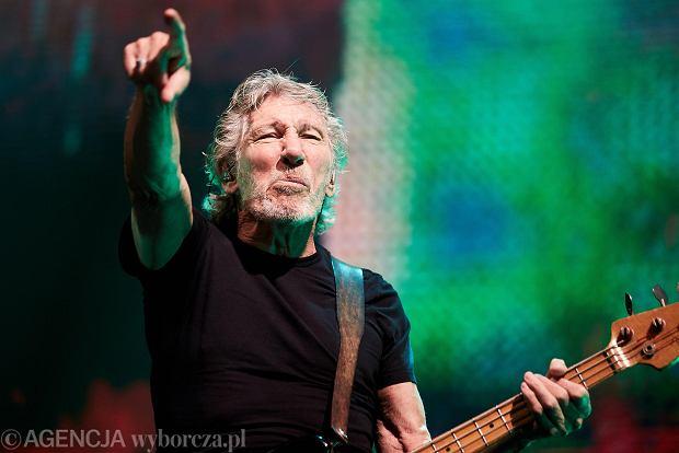 Roger Waters na koncercie w Ergo Arenie