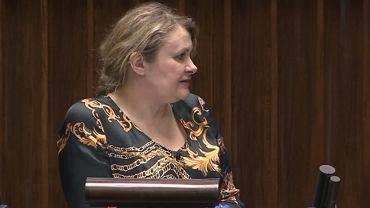 Katarzyna Piekarska w Sejmie