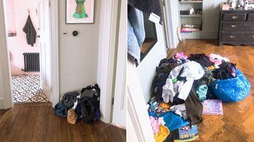Ta kobieta pokazała, jak wyglądał jej dom, gdy przez kilka dni nie sprzątała.