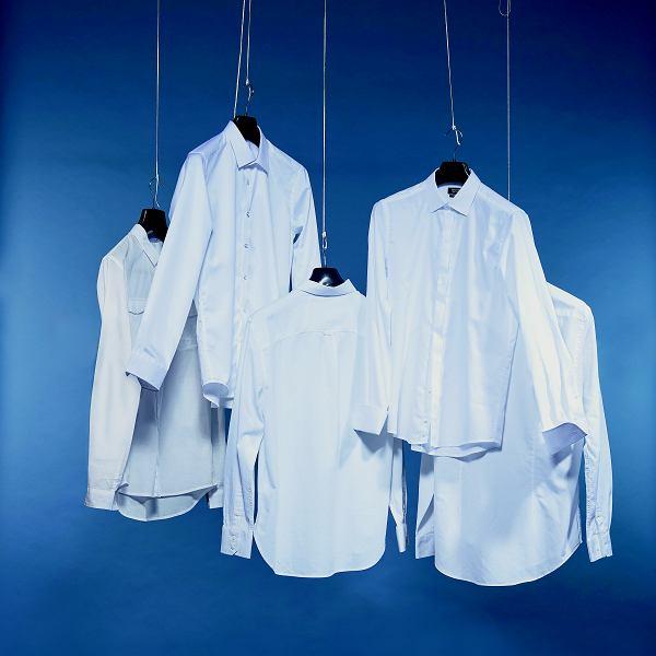 Test białych koszul - magazyn Logo