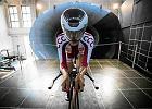Kolarstwo. Światło w tunelu aerodynamicznym. Testy Polaków