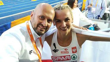 Aleksander Matusiński i Justyna Święty-Ersetic
