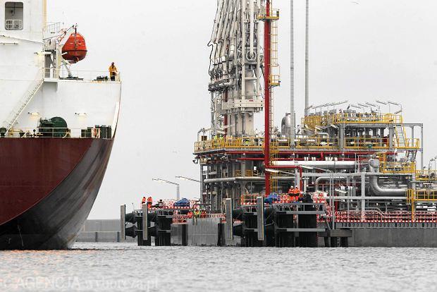Grudzień 2015 r. Pierwsza dostawa skroplonego gazu LNG do gazoportu w Świnoujściu