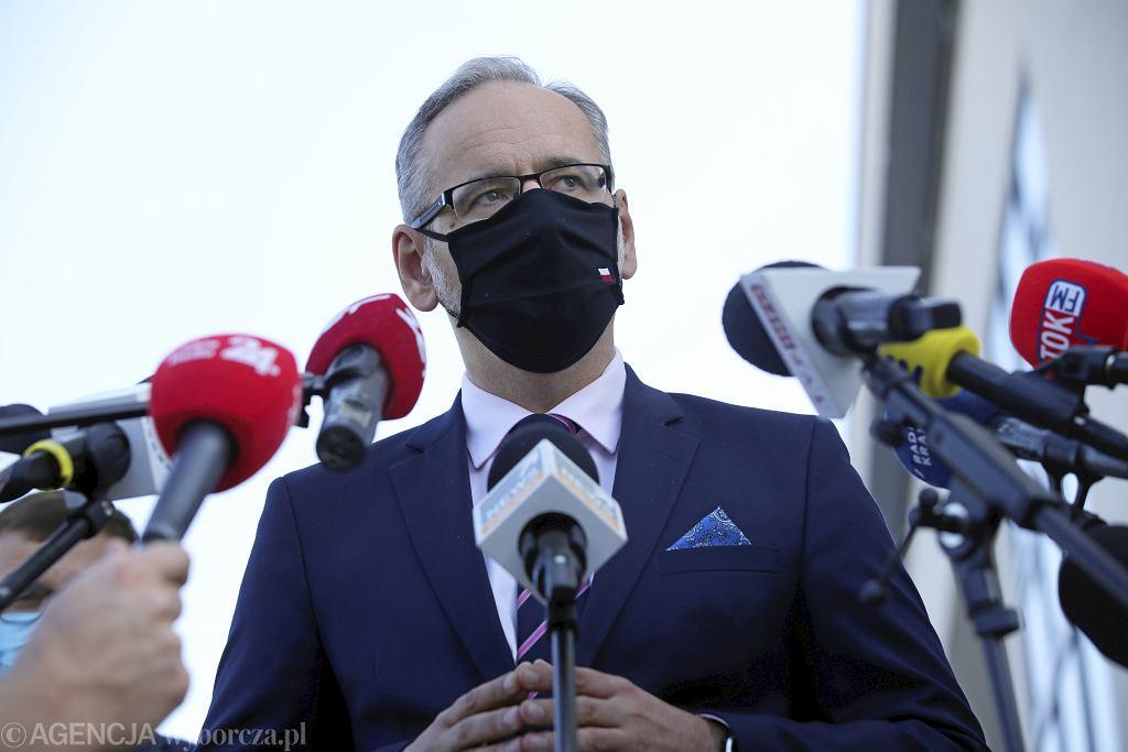 Minister Zdrowia Andrzej Niedzielski
