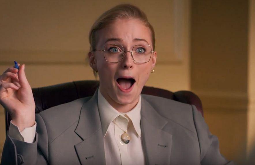Sophie Turner 'została' terapeutką Daenerys i Aryi Stark