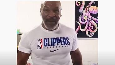 Mike Tyson pokazał kolejny film z treningu