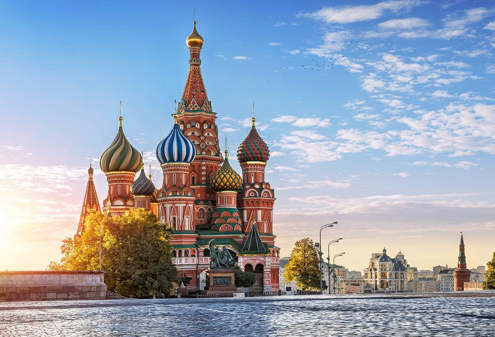 Cerkiew Wasyla Błogosławionego w Moskwie (fot. Shutterstock)