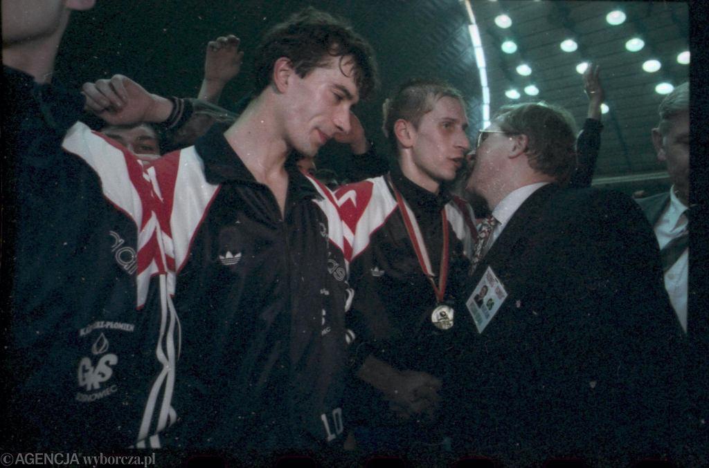 5 kwietnia 1996, Sosnowiec. Kazimierz-Płomień został mistrzem Polski. Na takie sukcesy przyjdzie jeszcze poczekać...