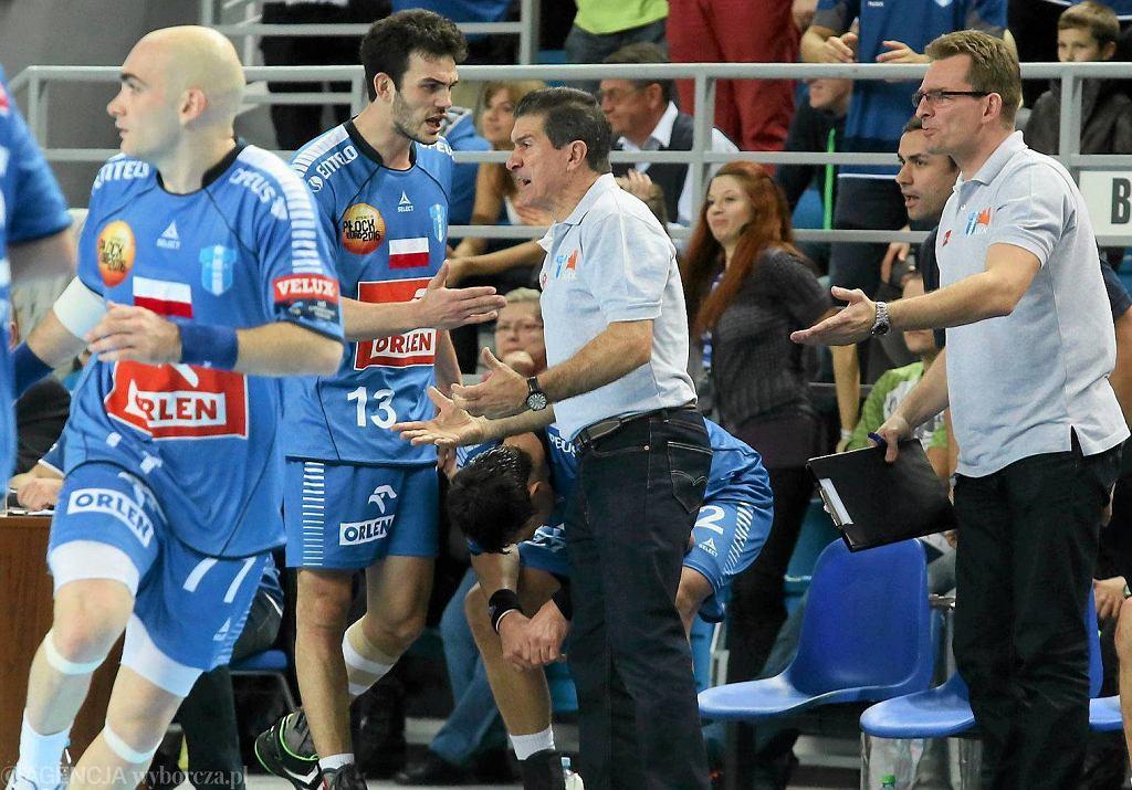 Manolo Cadenas i jego asystent Krzysztof Kisiel (z prawej)