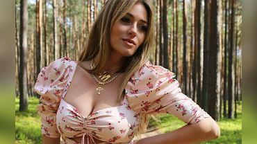 Marcelina Zawadzka w sukience For Love & Lemons