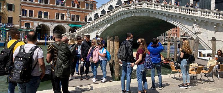 Włochy. Wenecja znów oblężona przez turystów