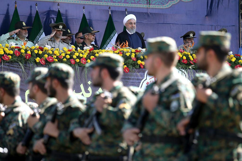 Defilada w Teheranie w 38. rocznicę ataku irakijskiego na Iran