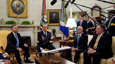 Spotkanie Andrzeja Dudy i Donalda Trumpa w Waszyngtonie