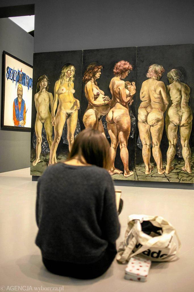 Wystawa zbiorowa malarstwa i rzeźby 'WPROST 1966-1986'  / Wystawa zbiorowa malarstwa i rzeźby 'WPROST 1966-1986' KUBA OCIEPA