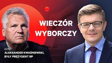 Wieczór wyborczy Gazeta.pl - gościem Aleksander Kwaśniewski