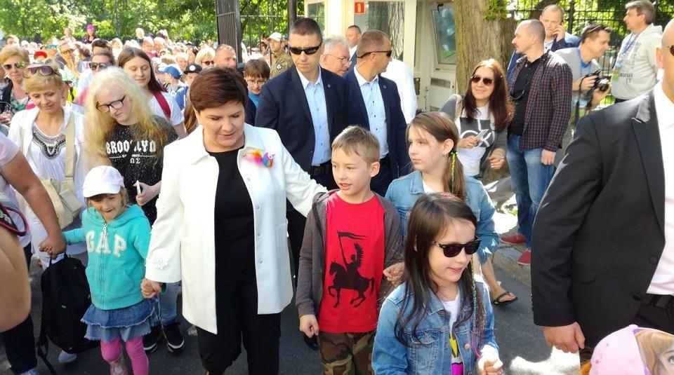 Beata Szydło na imprezie z okazji Dnia Dziecka w Kancelarii Premiera
