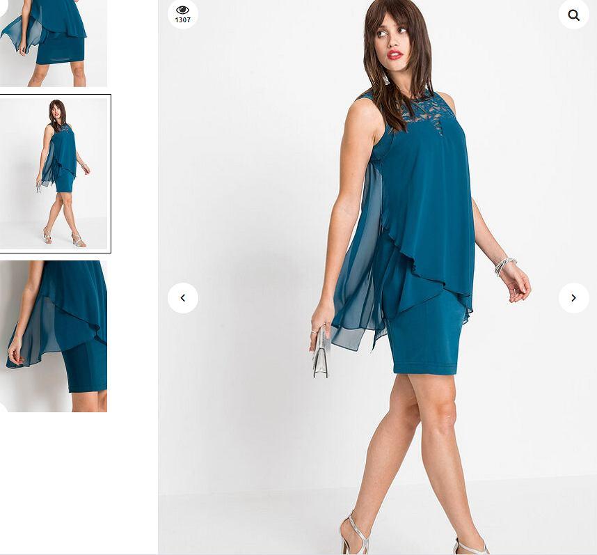 dwuczęściowa sukienka