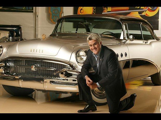 Jay Leno jest znany jako kolekcjoner samochodów i motocykli