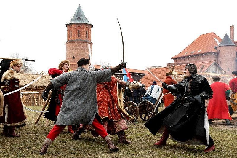 Inscenizacja szturmu zamku w Tykocinie / Dzięki uprzejmości Zamku w Tykocinie, fot. Jerzy Rojecki