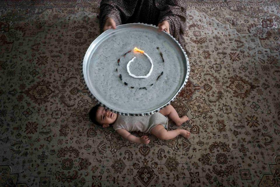 Sima Choubdarzadeh - 'Mam na imię strach' - zdjęcie z wystawy Programu Otwartego