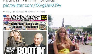Kobieta na zdjęciu po lewej to na pewno Maria Putin. Pojawiły się jednak wątpliwości, co do drugiej fotografii. Niektóre źródła twierdzą, że jest na nim nie córka prezydenta Rosji, a modelka Uma Blasini, była miss Puerto Rico