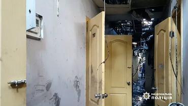 Pożar hotelu Tokyo Star w ukraińskiej Odessie