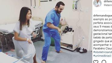 Tanecznym krokiem, aż do porodu.